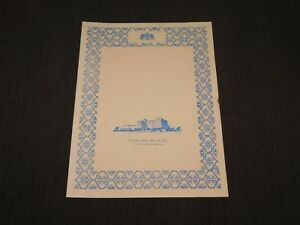 VINTAGE OLD DINING 1975 SORENO HOTEL  RESTAURANT ST PETERSBURG FLORIDA   MENU