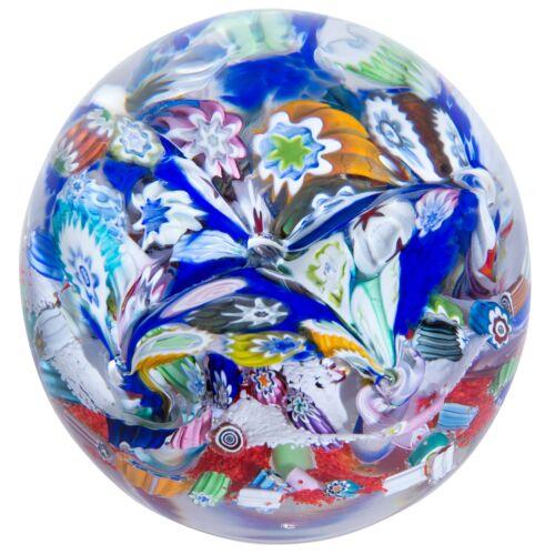Caithness Glass U17046 Millefiori Fingals Cave Paperweight