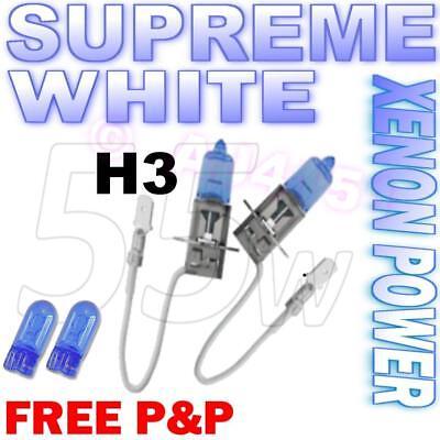 HB4 Fog Spot Beam Headlight Bulbs Xenon Supreme White Light Upragde 9006 501