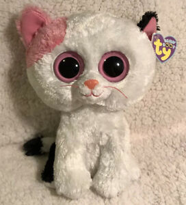 """TY BEANIE BOOS MINT with MINT TAGS FRIGHTS the 6/"""" CAT"""