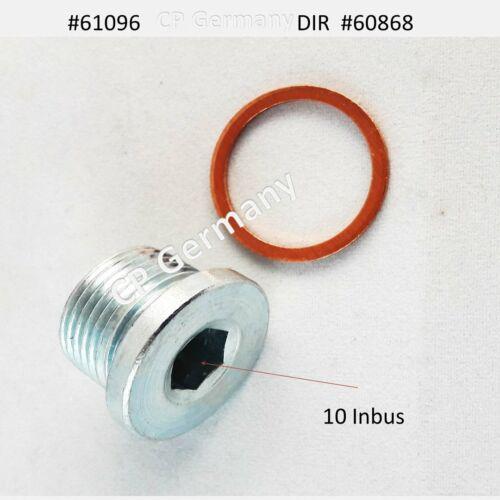 Universal Ölablassschraube M 22 x 1,5 ISK #61096 1x Dichtring #60868