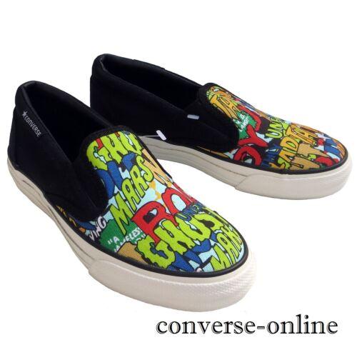 niños Comic Zapatos Slip 12 5 niña Chicos Tamaño Black Star On Zapatillas All Uk Converse nACnYwdq