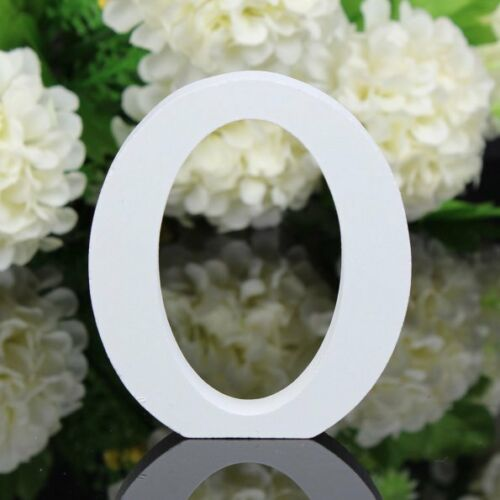 Wood Letter /& Numbers Alphabet Bridal Wedding Party Table Decoration Free Stand