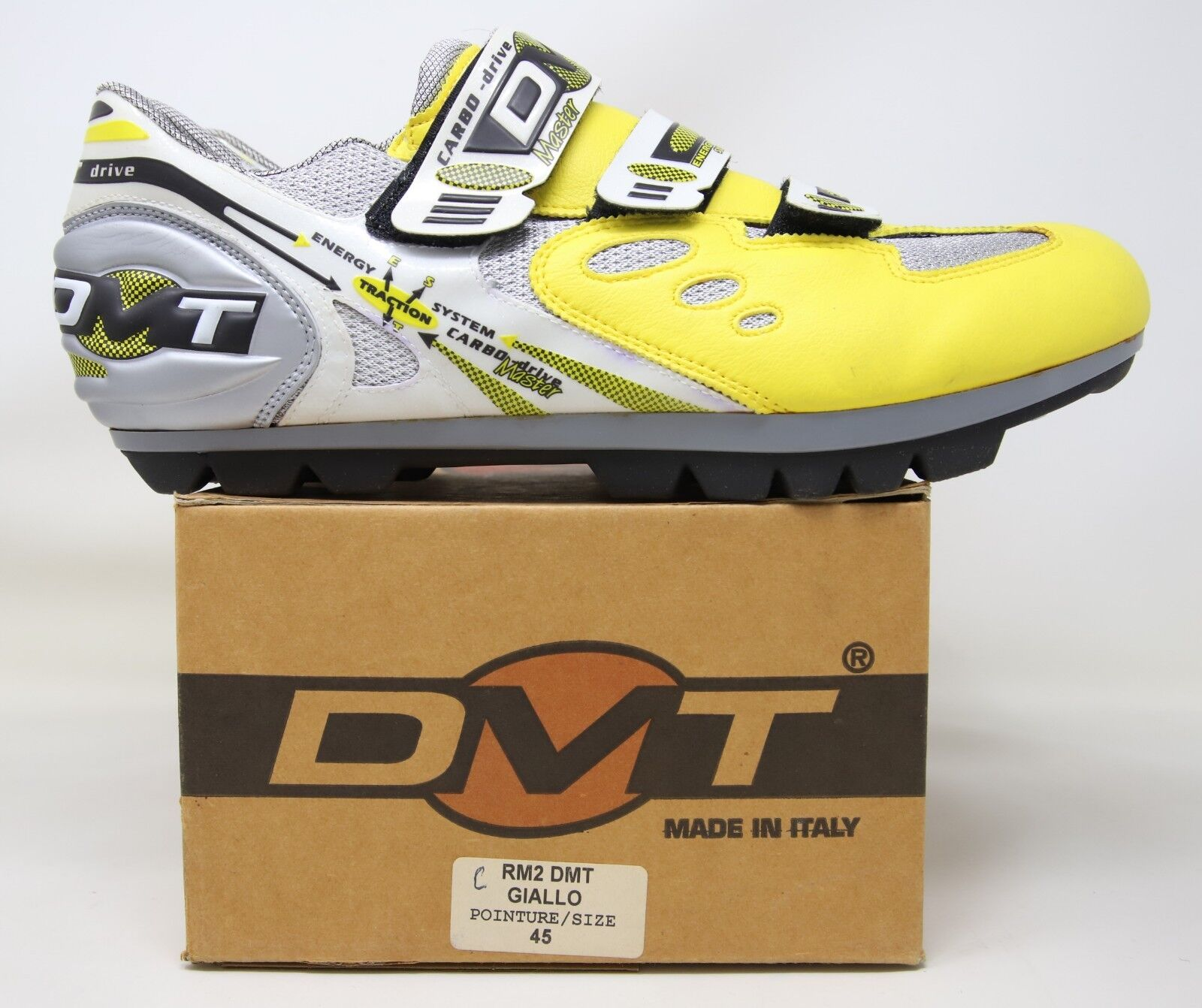 NOS  DMT RM2 MTB CYCLING SHOES SIZE MADE IN ITALY NIB  there are more brands of high-quality goods