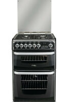 Cannon Harrogate Ch60dhkfs 60cm Dual Fuel Cooker Electric Double Ovens & Gas Hob