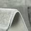 Wohnzimmer Teppich Grau Patchwork Design Meliert mit Konturenschnitt Dekoration