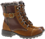 Earth-Spirit-Winter-Boots-Ladies-Mid-Calf-Leather-Faux-Fur-Buckle-Lace-Zip-Shoes thumbnail 5