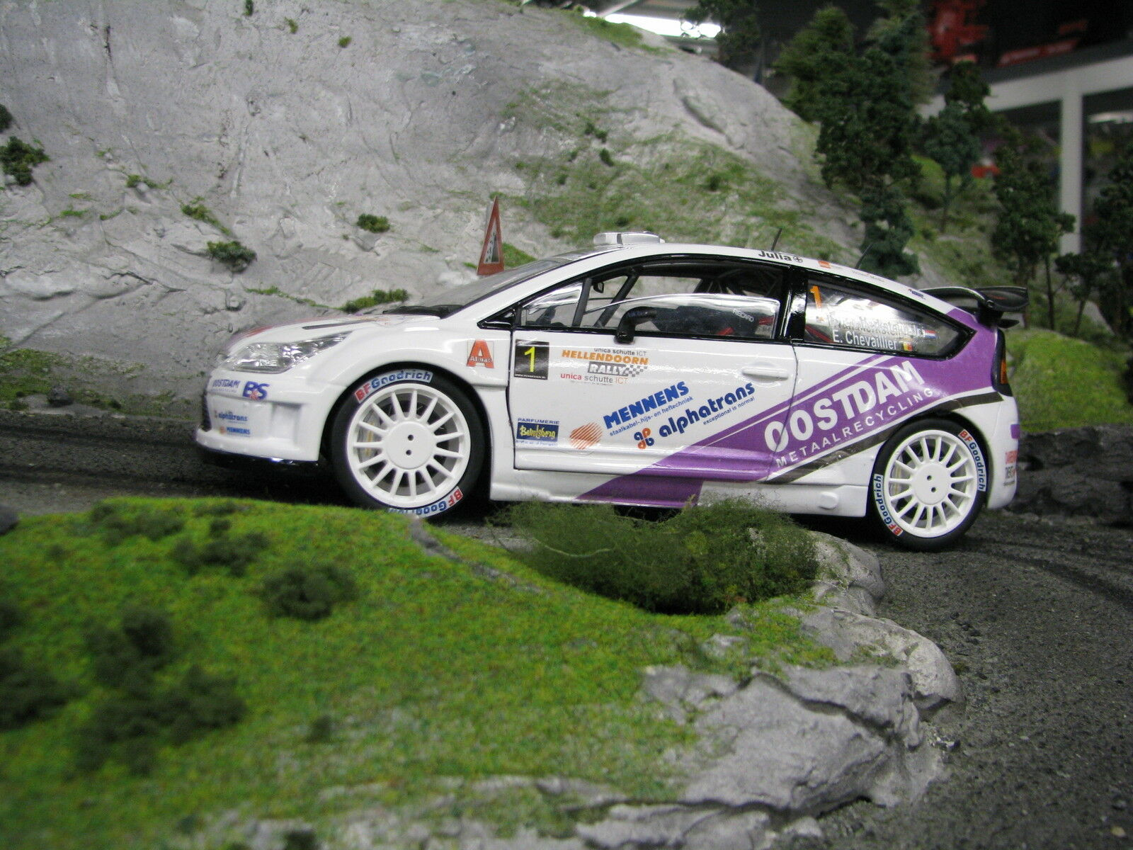 Solido Citroën C4 WRC 2012 1 18 18 18 v. Merksteijn Jr Chevallier Hellendoorn Rally ae5568