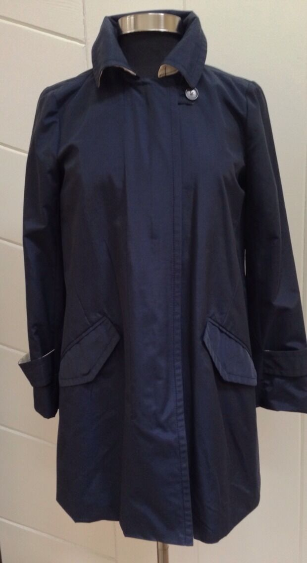 NWOT J. Crew Collection navy trench size 6