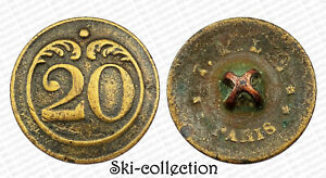 Button-20-Regiment-Infantry-of-Lead-Troupes-1820-1844-France-0-7-8in
