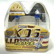 XD5 5800K 880 H27 Xenon Krytron Quartz White Light Bulbs for Fog  DRL