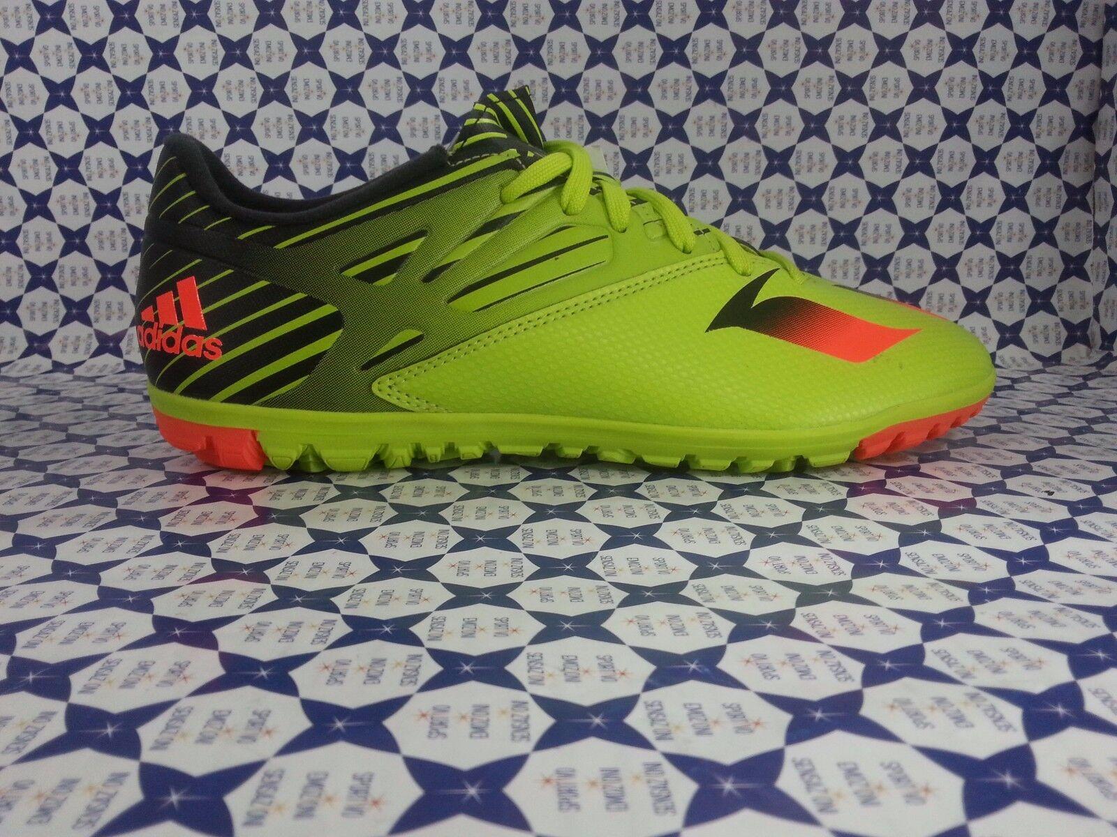 Zapatos 15.3  Calcetto Adidas Messi 15.3 Zapatos TF  Verde/Nero  S74696 864 2c8f4e