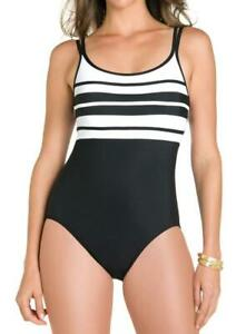 Miraclesuit-Spectra-Rigmarole-Slimming-Swimsuit-One-Piece-8-Black-White-152