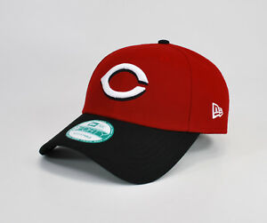 new arrival fbcf7 20d1f Image is loading NEW-ERA-9Forty-MLB-Cincinnati-Reds-Black-White-