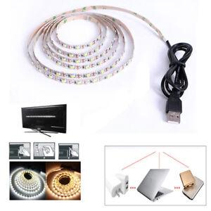 Led Lighting Lights & Lighting Responsible Smd3528 Dc 5v Usb Led Strip Light Tv Rgb Neon Ribbon Flexible Diode Tape 50cm 1m 2m 3m 4m 5m Background Lighting
