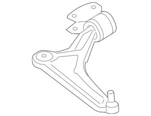 Genuine Ford Lower Control Arm FG9Z-3078-E