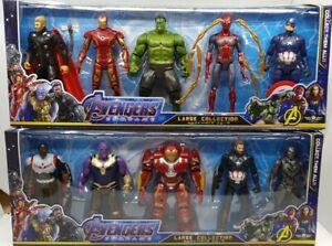 Avengers-Endgame-Black-Panther-Thor-Hulk-Buster-Ironman-Sipderman-Thanos-AU