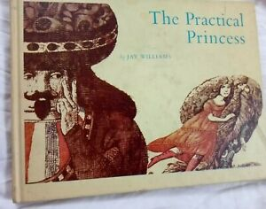 THE-PRACTICAL-PRINCESS-by-Jay-Williams-Parents-Magazine-Press-1969-ex-library