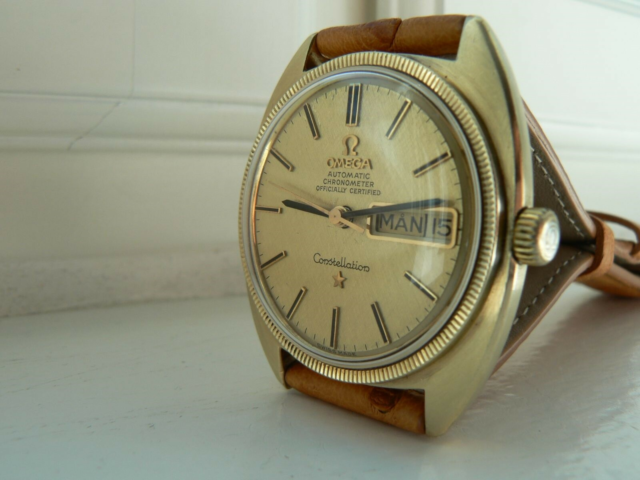 Herreur, Omega, Vintage Omega Automatic Constellation…