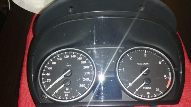 BMW 3er E90 E91 E92 E93 Tachymètre Instrument Combiné Diesel 9187344/Facture