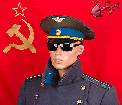 USSR army uniform Russian Soviet KGB officer parade cap size 56-62 7-7 3//4 US