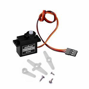 Sg90 servo motor mini gear 9g micro servo for rc for Rc car servo motor