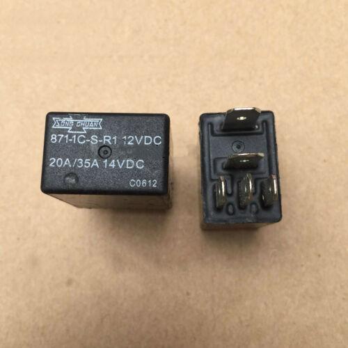 1pcs Used Relay 871-1C-S-R1-12VDC