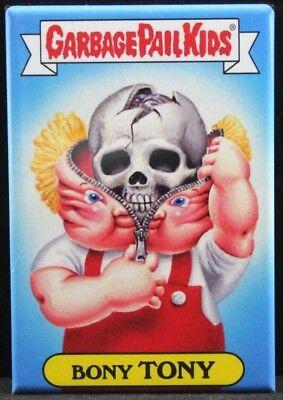 """Locker Magnet. Garbage Pail Kids Bent Ben 2/"""" X 3/"""" Fridge"""