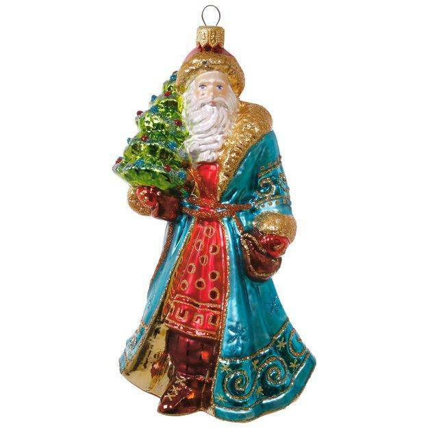 - Hallmark Heritage Collection Nostalgic Santa Blown Glass Ornament EBay
