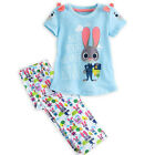 été Zootopia Pyjama Enfants Bébé Fille Coton pyjama Pyjamas Pyjama Ensemble 2-7Y
