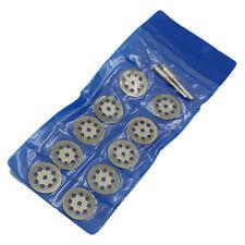 10pc Diamond Cutting Wheel Set For Dremel rotary tool die grinder cut off disc 1