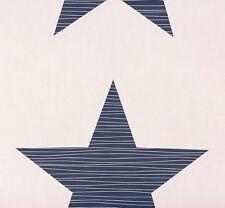 Kindertapete Rasch Bambino Sterne weiß blau 245523 (1,56€/1qm)