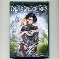 Edward Scissorhands 1990 Pg-13 Movie Dvd Johnny Depp Winona Ryder Tim Burton