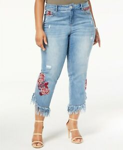 INC-International-Concepts-Plus-Size-Embroidered-Ripped-Jeans