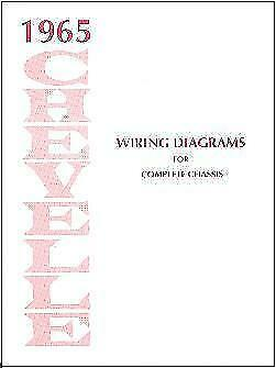 1965 Chevelle & El Camino Wiring Diagram for sale online ...
