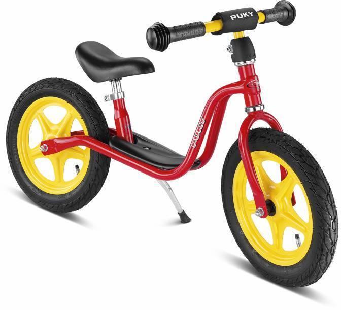Puky Laufrad LR1L Kinderlaufrad Lauflernrad Lernrad 4003 Luftreifen rot +Ständer