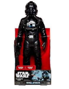 6 Star Wars - Big Figs Tie Fighter Pilots  - 18  Figure - Brand New