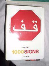 Colors magazine 1000 SIGNS ed. Taschen 2004 in italiano spagnolo portoghese