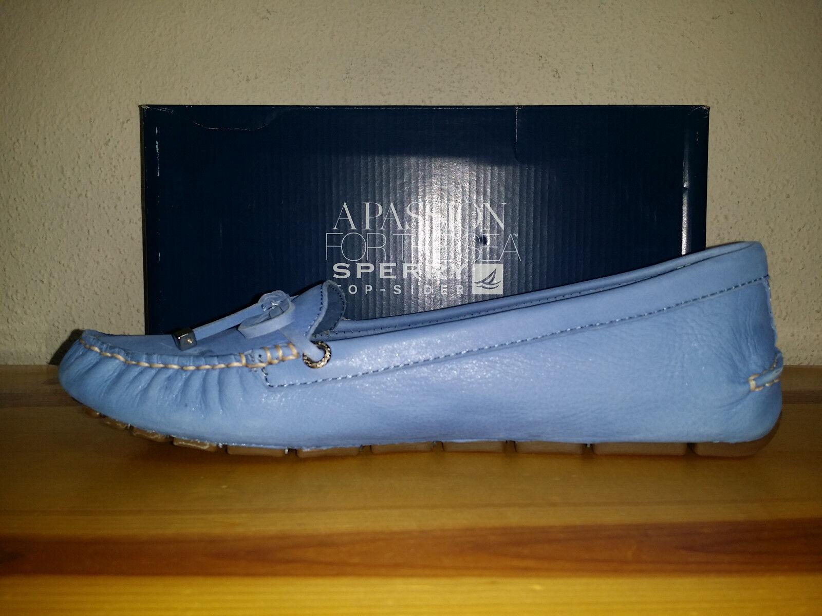 Sperry 90 para mujer 9.5 Sperry  Top-Sider Katharine Brillos Zapatos Náuticos Azul 850d6e