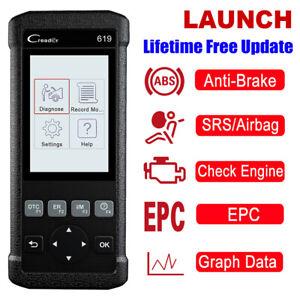 OBD2-Scanner-Code-Reader-Car-Engine-ABS-SRS-Diagnostic-Tool-LAUNCH-Creader-619