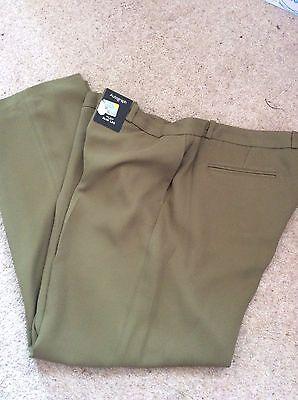 Gorgeous Olive Colour Trousers SZ 16 Reg BNWT
