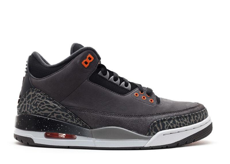 2013 Nike Air Jordan 3 III Retro Fear Size 11. 626967-040 bred cement true bluee