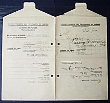 POW Camp 153 Hyères France 1948 German Prisoner War Kriegsgefangenenpost 80