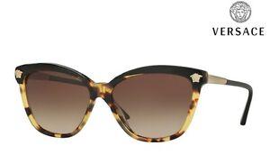 29a7403daf Image is loading VERSACE-Sunglasses-VE4313-5177-13-Havana-RRP-171