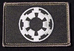 IMPERIAL GALACTIC EMPIRE STAR WARS PVC MORALE PATCH HOOK TACTICAL ARMY UNIFORM