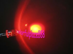 1000pcs 5mm Red Self Flash Flashing LED Blink Water Clear Bright Leds Light New