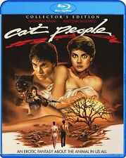 CAT PEOPLE New Sealed Blu-ray 1982 Collector's Edition Nastassia Kinski