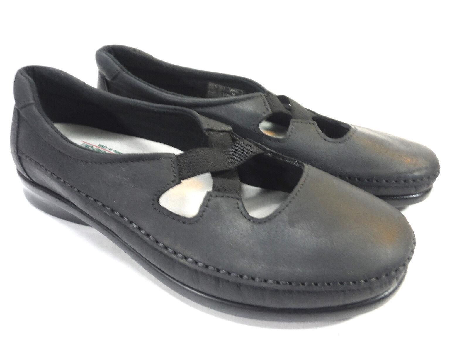 SAS TRIPAD Leder COMFORT SOFT STEP schwarz Leder TRIPAD mary jane walking low wedge loafers 63b5d9
