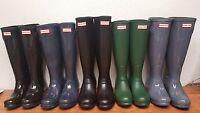 New Model Hunter Original Tall Rain Boots Women's Matte & Gloss Colors Size 5-10