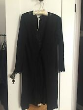 Max Studio linen + rayon duster / long sweater / cardigan
